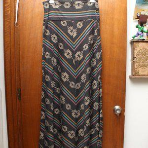 Aztec Print Maxi Dress/Skirt